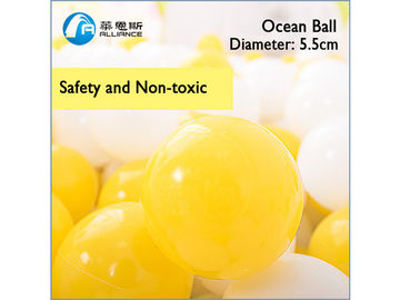 Cina Ocean Ball Plastik Inflatable Ball Game 5.5cm Diameter Warna Disesuaikan pabrik